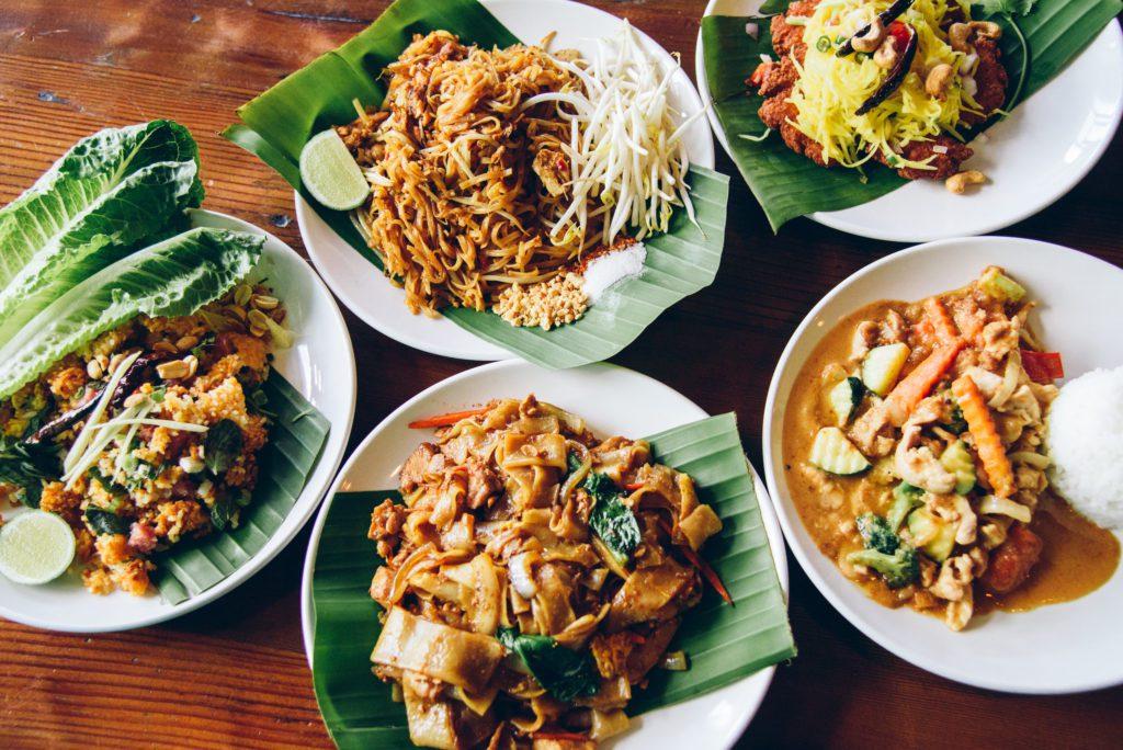 Thai cuisine at Thai Tamarind in Monroe
