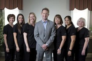 dental team with dr roy d jennings